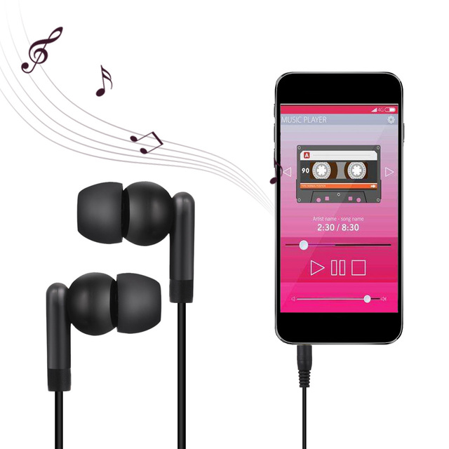 3.5MM In-Ear Stereo Earphone Metal Sport Bass Earphone Noise Isolating Music Headset for iphone for Samsung Mobile phone Univers 2