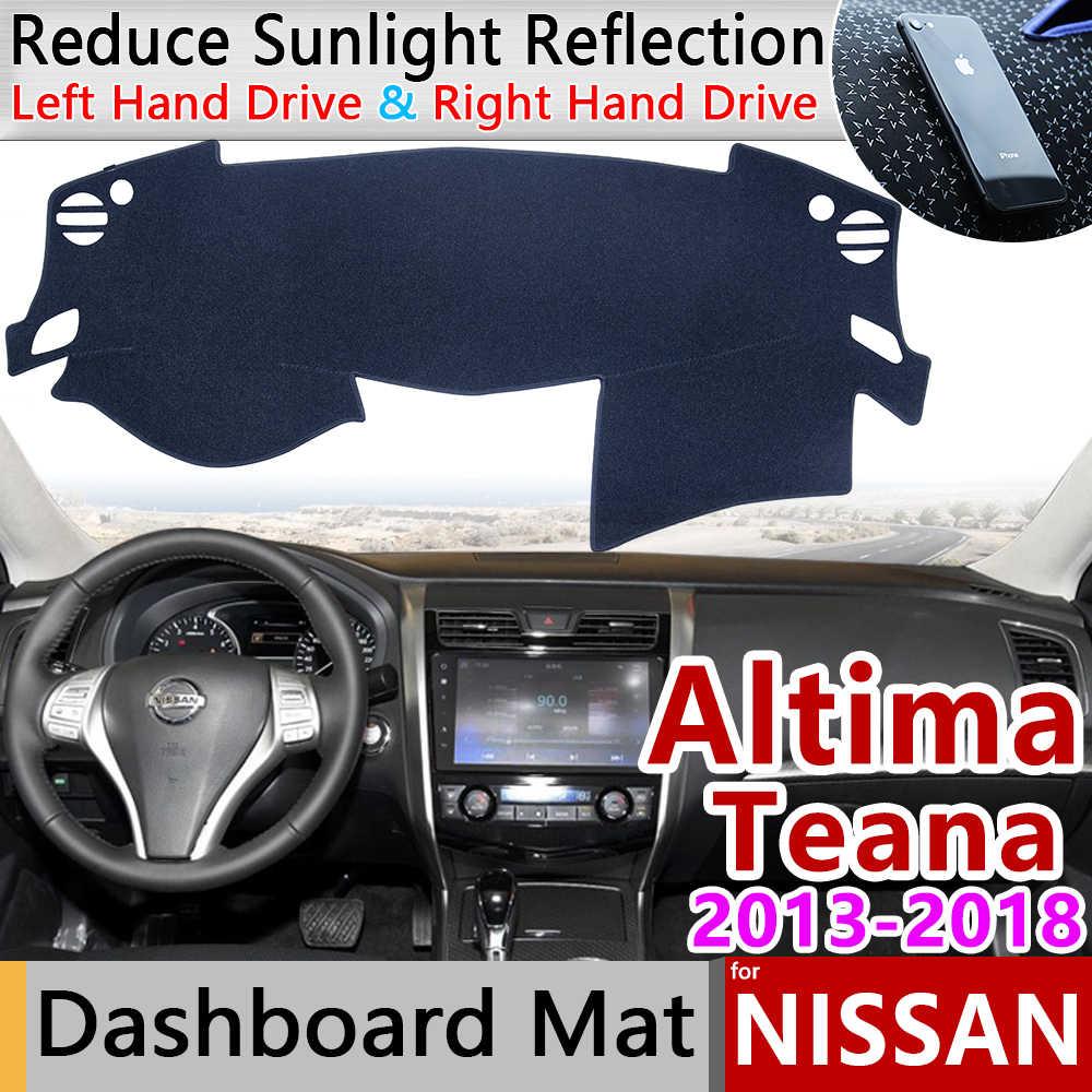 日産アルティマティアナ L33 2013 2014 2015 2016 2017 2018 アンチスリップマットダークマットシェーディングパッド防止サンシェード Dashmat カーペットアクセサリー