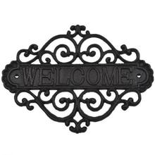 BMBY-знак приветствия настенная доска домашний сад открытый подвесной Декор декоративный креативный Ретро магазин вывески чугунный дачный домик H