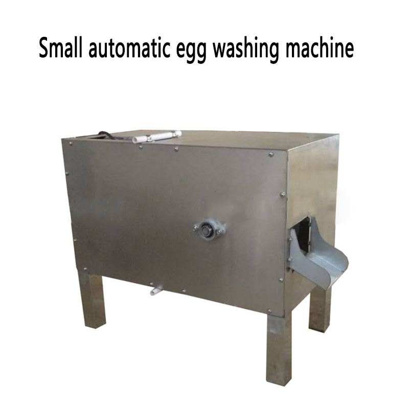 Commercial Egg Washing Machine Water Circulation Washing Chicken/duck Egg Machine RC-100 Small Automatic Egg Washer 220v 550w