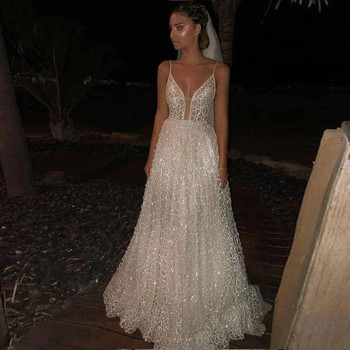 Vestido de novia de tul con tirantes finos, Boda de Princesa