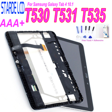 цены на STARDE Replacement LCD For Samsung Galaxy Tab 4 10.1 T530 T531 T535 LCD Display Touch Screen Digitizer Assembly Frame Repair Par  в интернет-магазинах