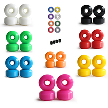 4pcs Combo 52mm skateboard wheels with bearing complete PU Wheels Skateboard parts Colorful ABEC-11 Speed bearing