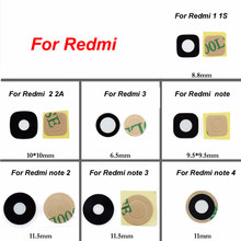 New Rear Back Camera Glass Lens Cover Replacement For Xiaomi Redmi NOTE 1S PRO 2/3/4/2A Spare Parts(China)