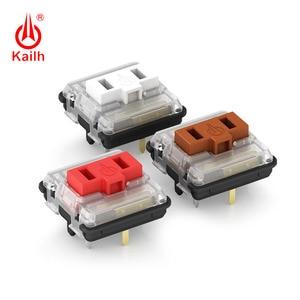 Image 1 - Kailh נמוך פרופיל מתג 1350 שוקולד מקלדת מתג RGB SMD kailh מכאני מקלדת לבן גזע clicky יד תחושה