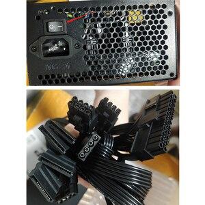 Image 5 - Aigo PC 전원 공급 장치 650W 80PLUS PSU 인증 전원 공급 장치 PC 게임 최대 850W 컴퓨터 12V 120mm 냉각 팬