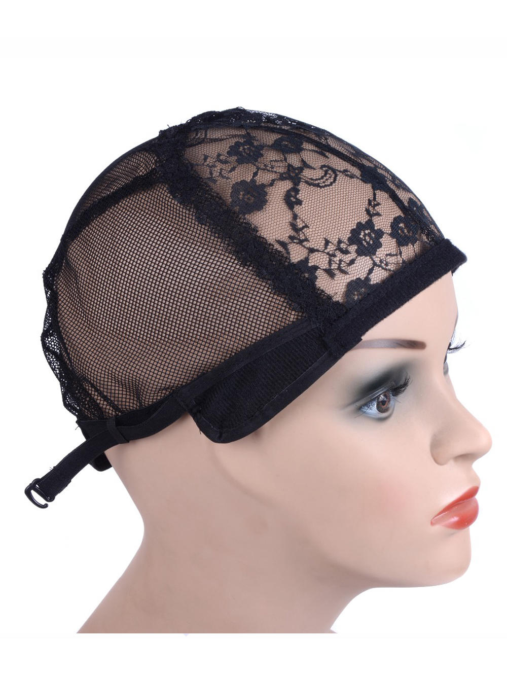 Wig-Cap Hair-Net Making-Wigs Adjustable-Strap Back Good-Quality Glueless with for on