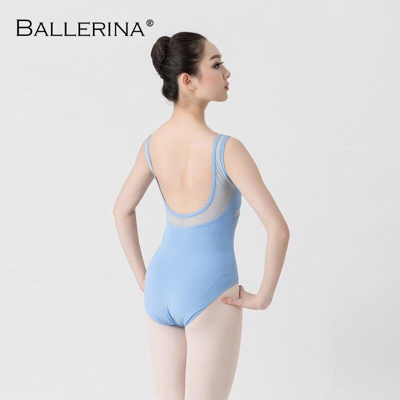 Image 2 - ballet leotard women Dancewear Professional training gymnastics leotard Sexy Mesh stitching  Ballerina 5672Ballet   -