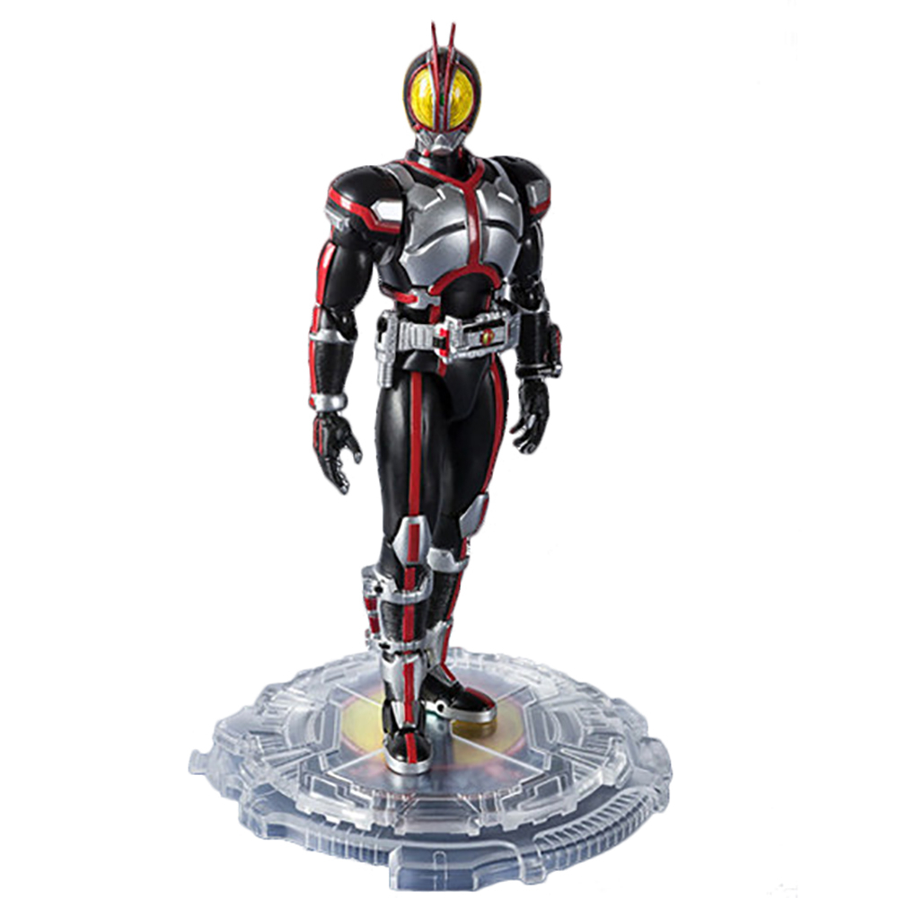 Image 2 - Masked Rider 555 20th anniversary Kamen Rider Faiz Action Figure Model Toys PVC 15CM Collection Gifts Desktop DecorationAction & Toy Figures   -