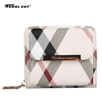 Wallet Women High Quality PVC Leather Wallets Fashion Short Wallet Female Small Woman Wallets And Purses Femeal Clutch