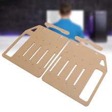 Acryl Festplatte Halterung 3,5 in Festplatte Regal DIY HDD Transparent Käfig YJ Y4F 002 doppel gesicht panel + fan befestigung streifen/mech