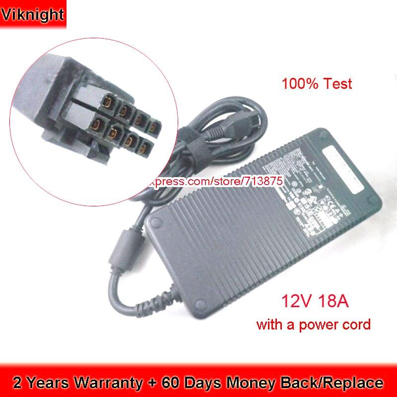 Genuine 12V 18A M8811 Ac Adapter For Dell D220P-01 DA-2 SX280 GX620 GX745 GX755 GX760 SX760 ADP-220AB B 0M8811 0MK394 8-Prong