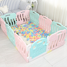 Baby Fence Kids Indoor Game Gate Bar Baby Crawling