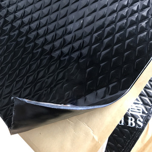Car sound insulation shockproof plate environmentally friendly and tasteless Pure butyl rubber damping plate shock pad