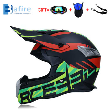 Casco De Motocross De baifire, Casco De Moto todoterreno profesional ATV, Casco De Moto De carreras Dh Mtb, Casco De Moto De Cross