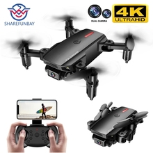 2020 NEW P2 drone 4k HD wide-angle dual camera 1080P WIFI visual positioning height keep rc drone follow me rc quadcopter toys