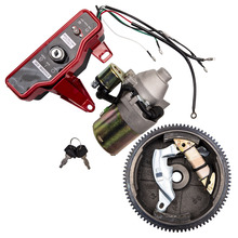 Electric Start Kit for Honda GX160 5.5 HP FlyWheel Starter Motor w/ Solenoid