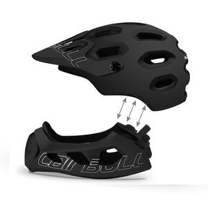 Image 3 - Cairbull ALLCROSS mtb 新山クロスカントリー自転車フルフェイスヘルメット極端なスポーツ安全ヘルメット casco ciclismo bicicleta