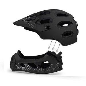Image 3 - Cairbull allcross mtb nova montanha cross country bicicleta rosto cheio capacete de segurança esportes radicais capacete casco ciclismo