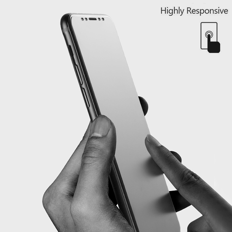 3-1/pcs Tempered Glass Matte Screen Protector Glass for iPhone 11 pro max 4