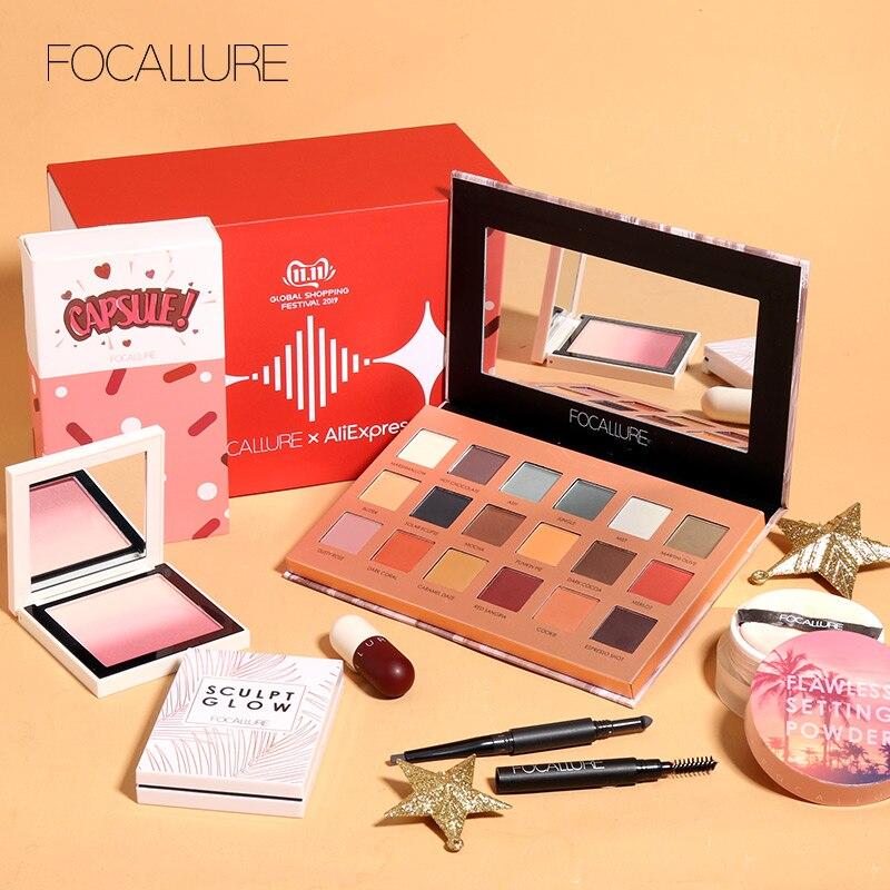 Focallure conjunto de maquiagem profissional venda quente produto kit