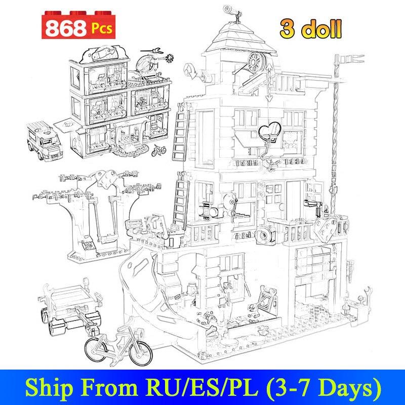 868 для девочек из двух предметов дома дружбы, строительные блоки маленького размера идущие хартлейк Сити больница, кирпичные блоки, игрушки ...