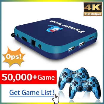 Game Console for PS1/DC/N64 50000+ Games Super Console WiFi Mini TV Kid Retro Video Game Player Support Wireless Controllers 1