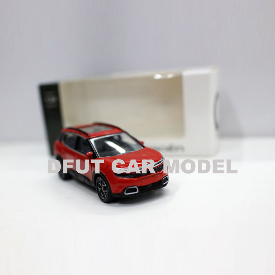 1//64 CITROEN C5 AIRCROSS alloy car model Gray// Red