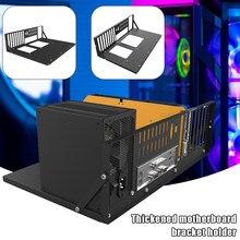 Quadro de mineração aberto chassis quadro engrossado placa-mãe suporte fixação quadro equipamento de mineração caso quadro computador casos torres