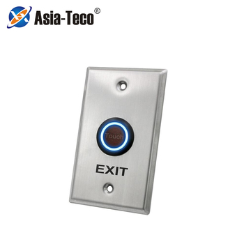 Drzwi ze stali nierdzewnej przycisk dzwonkowy Panel dotykowy do kontroli dostępu zamek elektryczny wyjście drzwi przycisk zwalniający tanie i dobre opinie LUCKING DOOR CN (pochodzenie) 115*70*30mm ST70 Przycisk wyjścia