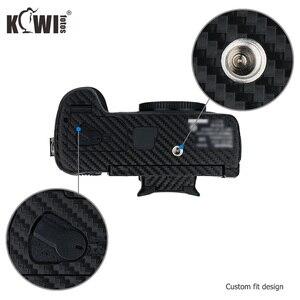 Image 3 - Kiwi Chống Trầy Xước Bao Da Máy Ảnh Da Bảo Vệ Cho Máy Ảnh Panasonic Lumix DC GH5 GH5 Camera Chống Trượt 3M miếng Dán Vân Carbon Phim