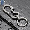Креативный титановый автомобильный брелок с многофункциональным кольцом для ключей