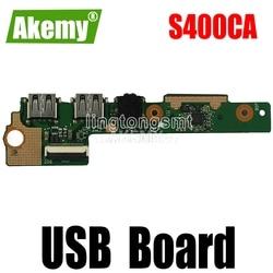 Для For For For Asus X402C X502C S400CA S300CA F502C ноутбук аудио USB IO Плата интерфейс SD карта плата считыватель звуковых карт