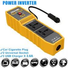 200W 400W Car Power Inverter 12V 220V 110V Solar Convertor Transformer 150W Inversor 12 V To 110 V 220 V Auto Accessories