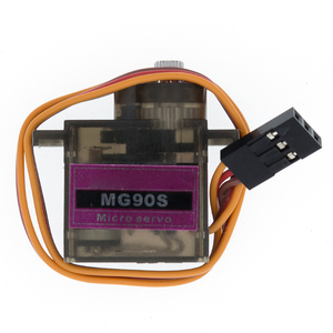 Image 4 - 20pcs/lot MG90S Metal gear Digital 9g Servo For Rc Helicopter plane boat car MG90 9G