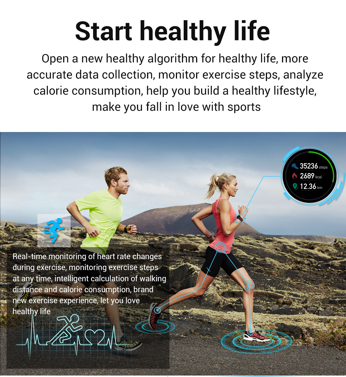 Hcdbf3e2db6f543669cdd41ed18973e71P 2020 New L6 Smart Watch IP68 Waterproof Sport Men Women Bluetooth Smartwatch Fitness Tracker Heart Rate Monitor For Android IOS