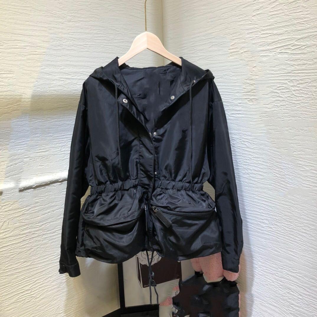 Thick Warm Premium Black Hooded Jacket for Woman Autumn Winter Hoodie Outdoor Windbreaker Designer Luxury Female Clothing Posh Jackets  - AliExpress
