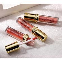 все цены на 12 Colors Nude Glitter Metal Shimmer Lip Gloss Long Lasting Waterproof Moisturizing Lipgloss Makeup Lip Tint