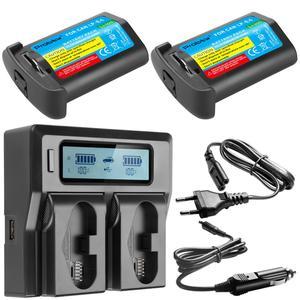 Image 3 - 3300mAH LP E4 LP E4 LP E4N Batterie Per Foto/Videocamera O LCD caricabatterie Rapido PER Canon EOS 1D Mark III,EOS 1D Mark IV,EOS 1Ds Mark III