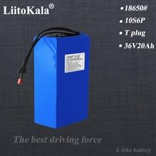 LiitoKala 36V E-bike replacement battery 36V 20AH Electric Bike battery 36 V 20ah 1000W Scooter Battery with 30A BMS