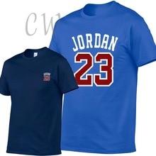 Men T-Shirt Camisetas Swag Fitness Print New-Brand-Clothing Jordan 23 Cotton Homme Hip-Hop