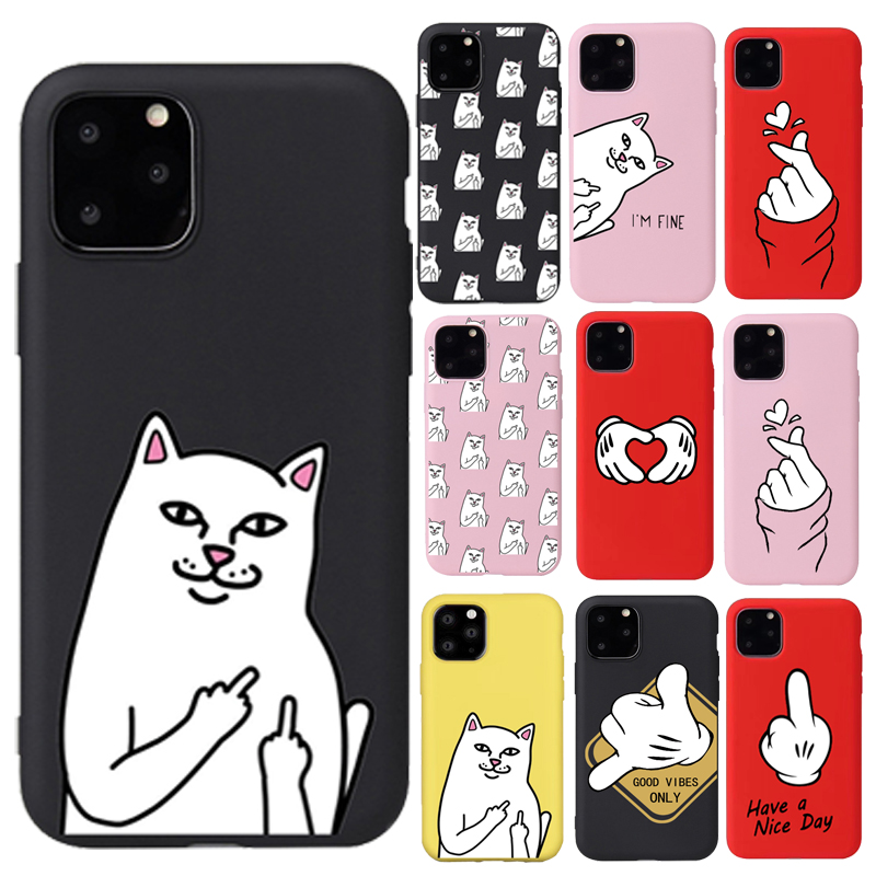 The Hermitage Court Moor Cat iPhone 11 case