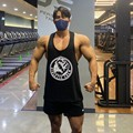 2021 New Gym Tank Tops Men Fitness Clothing Mens Bodybuilding Tank Tops Summer Gym Clothing Male Sleeveless Vest Shirts