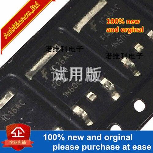 5pcs 100% New Original FQD1N60CTM FQD1N60C 1N60C SOT-252 In Stock
