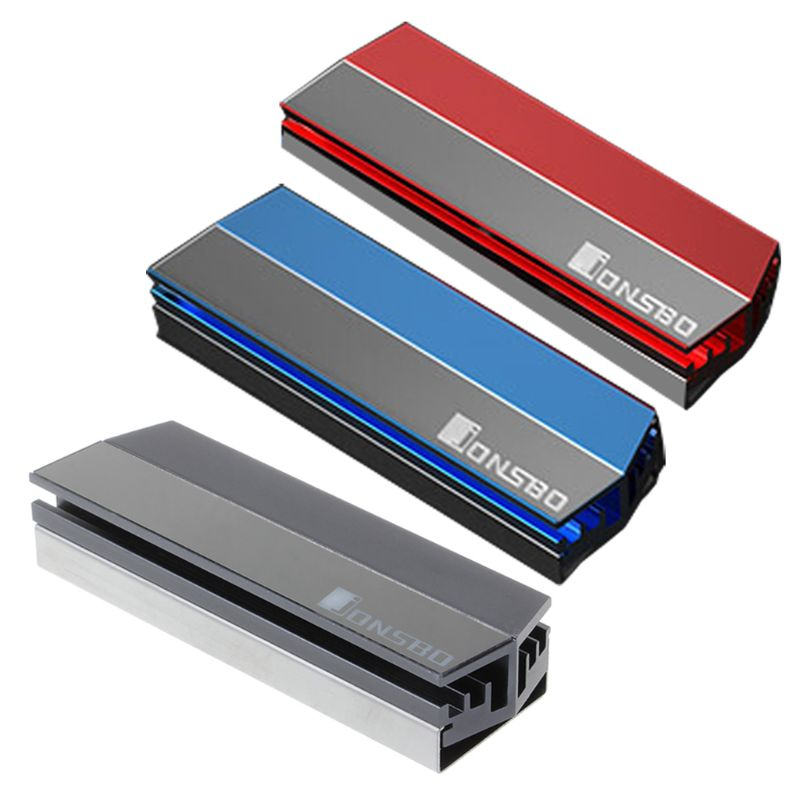Liga de alumínio Dissipador de Calor Do Radiador Refrigerador de Disco Rígido de Estado Sólido SSD M.2 Dissipação Térmica Almofadas De Resfriamento