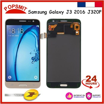 Экран с тачскрином на Samsung J3 2016 J320F J320M J320H