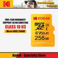 Kodak Originale di 100% Carta di TF Micro SD Scheda di memoria MicroSD Classe 10 16GB 32GB 64GB 128GB 256GB Smartphone Tablet Macchina Fotografica gopro