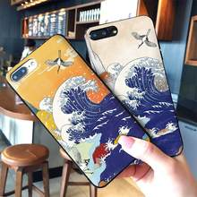 Japanese style Art Japan Mobile Phone Cases for Samsung A5 6 7 A8 A9 10 A10 A20 30 A40 A50 A60 70 M40 Soft Silicone Cover(China)