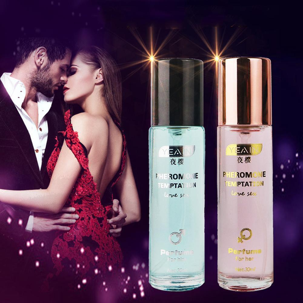 30ml Pheromones Perfume Pheromone Body Spray Floral Fragrance Lasting Love Perfume Lubricant For Vibrators Sex
