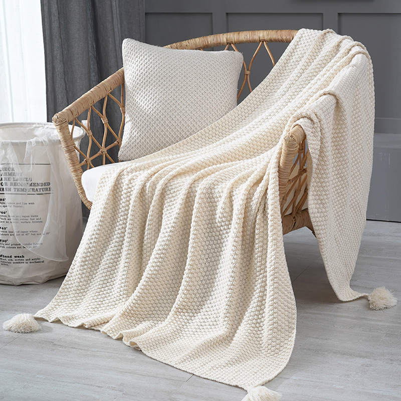 Ins Nordic Sofa 2020 Newblanket Blanket Office Siesta Shawl Blanket Knitted Wool Blanket Leisure Air Conditioning Blanket